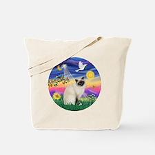 Twilight - Birman cat Tote Bag
