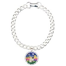 Twilight - Birman cat Charm Bracelet, One Charm