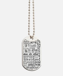 Ballet is hard terminology Dog Tags