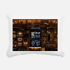 INSshoulderBag Rectangular Canvas Pillow