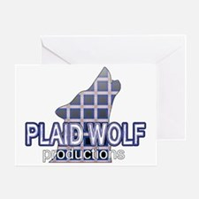 Plaid Wolf Productions Greeting Card
