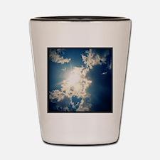 Clouds Shot Glass