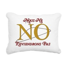 French Rectangular Canvas Pillow