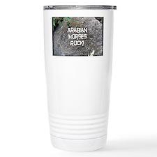 Arabian Horses Rock! Travel Mug
