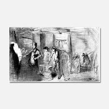 The forge - blacksmith at work - Whistler - c1890