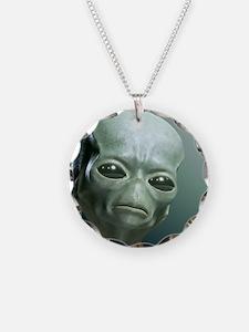 Secret UFO Videos Necklace