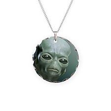 Secret UFO Videos Necklace Circle Charm