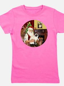 Santas Birman Cat Girl's Tee