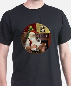 Santas Birman Cat T-Shirt