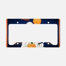 Yard Sign Ghost and Ghosty Ki License Plate Holder