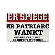 DER SPIEGEL - MURDOCH HEADLINE Rectangle Magnet