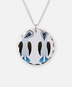 Pair of Boobys Necklace
