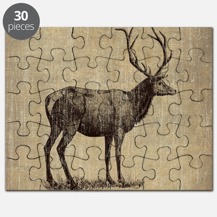 Vintage Antler Puzzle