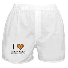 I love (heart) Autocross :: Boxer Shorts