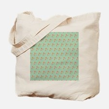 King Duvet Naila Floral Batik small Tote Bag