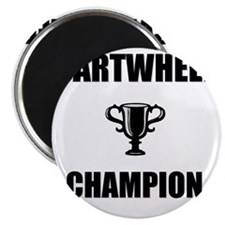 cartwheel champ Magnet