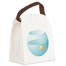 Fish Bowl Canvas Lunch Bag