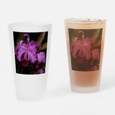 Longwood Orchid Drinking Glass
