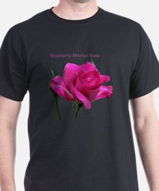 Raspberry Sherbet Rose Trinket Box T-Shirt