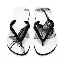Vintage Antler Flip Flops
