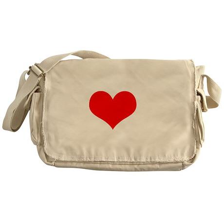 I Heart Castle 2 Messenger Bag