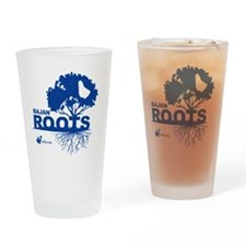 Bajan Roots Drinking Glass