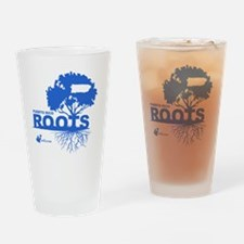 Puerto Rico Roots Drinking Glass
