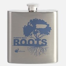 Puerto Rico Roots Flask