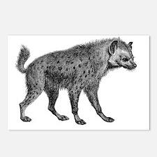 Vintage Hyena Postcards (Package of 8)