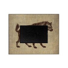 Vintage Hyena Picture Frame