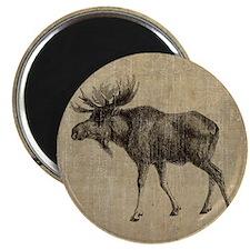Vintage Moose Magnet