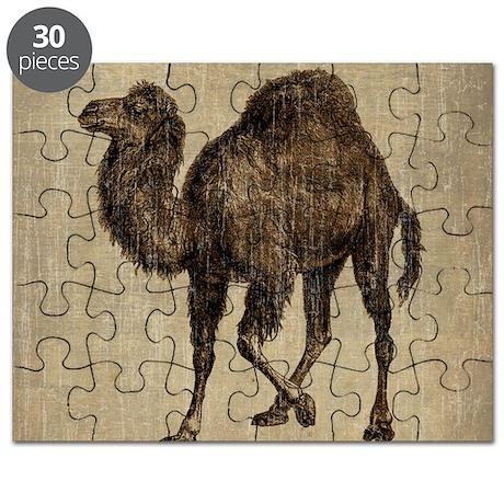 Vintage Camel Puzzle