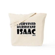 HurricaneIsaac-black Tote Bag