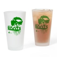 Jamaican Roots Drinking Glass