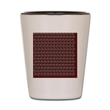 Coffee Cup Pattern Shot Glass