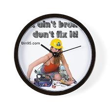 If it ant broke dont fix it! Wall Clock