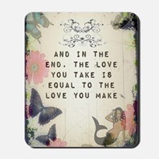 Vintage_Chick The Love You Make Mousepad