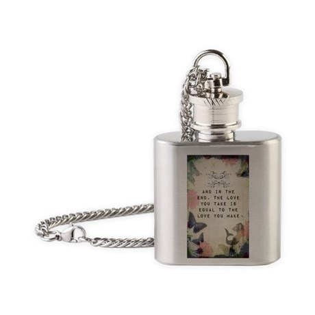 Vintage_Chick The Love You Make Flask Necklace