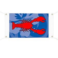 Lobster Pillow Case Banner