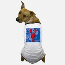 Lobster Queen Duvet Dog T-Shirt