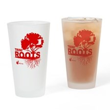 Trini Roots Drinking Glass