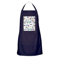 Spaceships Apron (dark)