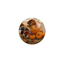 Fall Season Mini Button