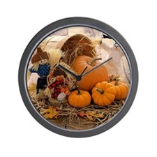 Fall Season Wall Clock