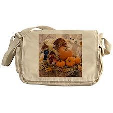 Fall Season Messenger Bag