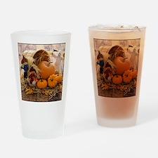 Fall Season Drinking Glass