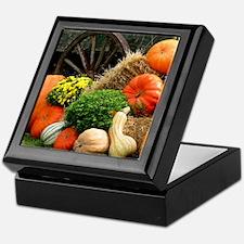 Pumpkins, Fall Themed, Keepsake Box