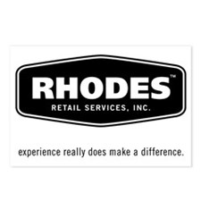 Rhodes Retail Logo Postcards (Package of 8)