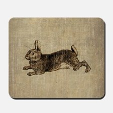 Vintage Rabbit Mousepad
