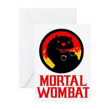Mortal Wombat Greeting Card